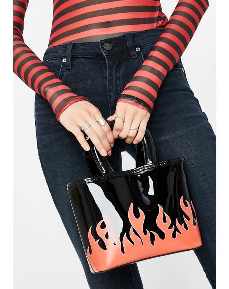 Leilani Flames Tote Bag