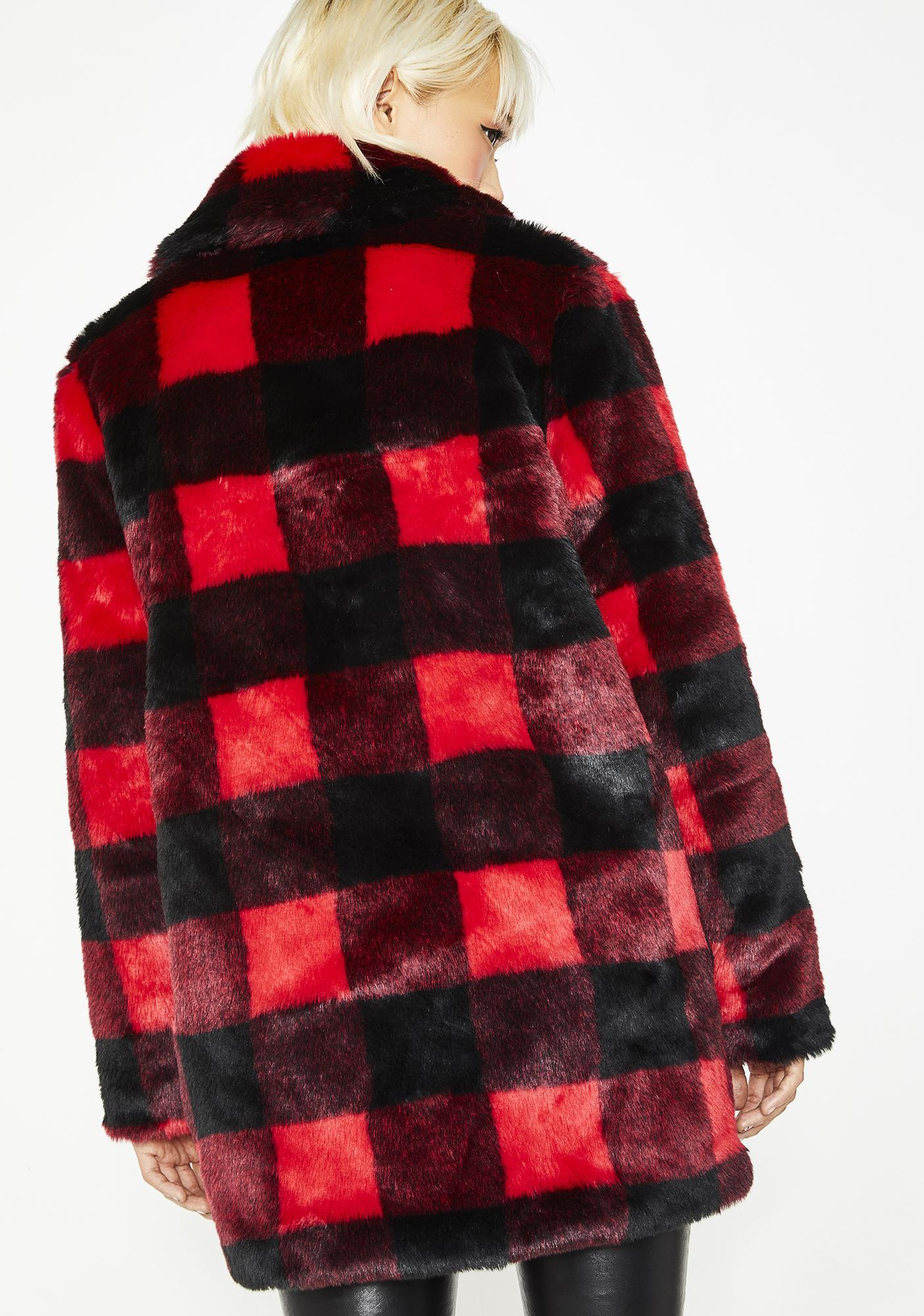 a67ce8859be25 ... Current Mood No Values Faux Fur Jacket ...
