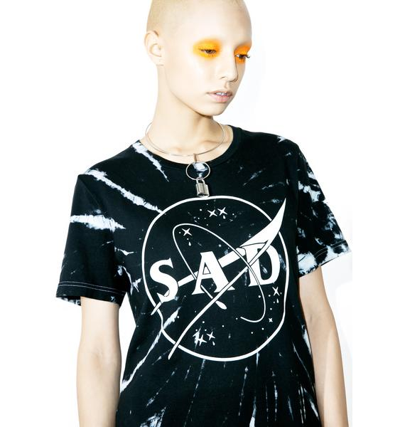 Sad Boy Crew SadSpace #Customs Tee