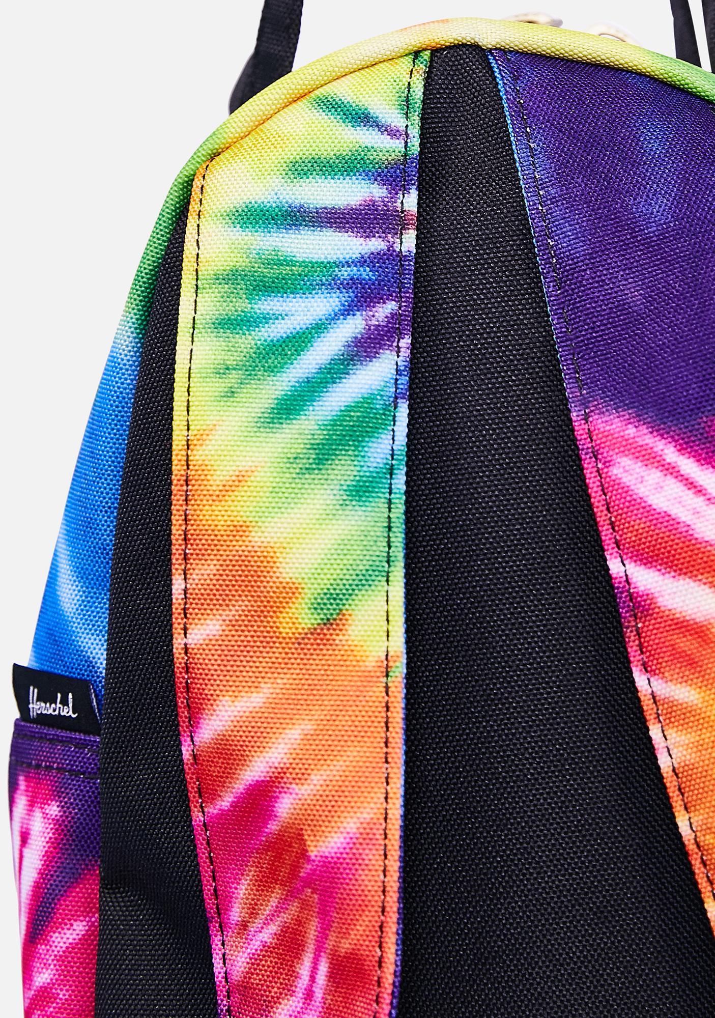 Herschel Nova Mini Tie Dye Rainbow Backpack
