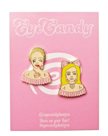 Barbie Stylist Pin Set