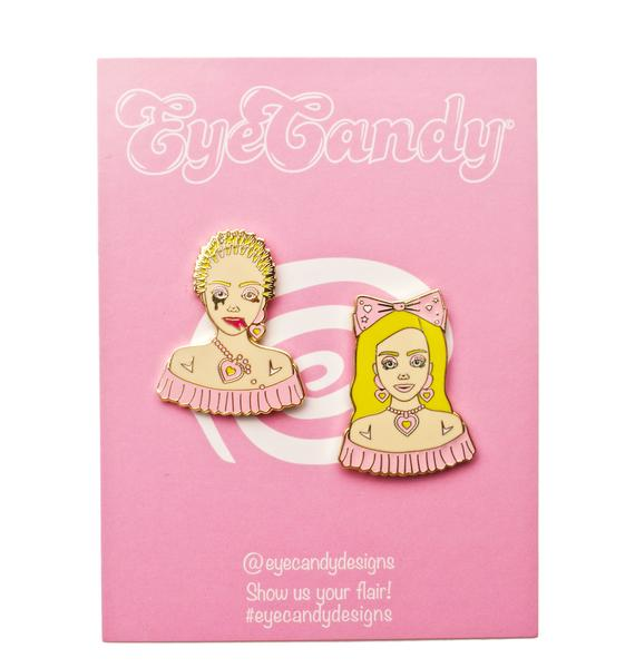Eye Candy Designs Barbie Stylist Pin Set