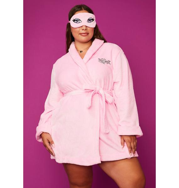 Dolls Kill x Bratz Need Beauty Rest Robe & Mask Set