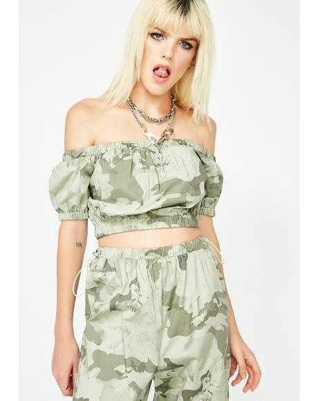 Dress To Kill Camo Set