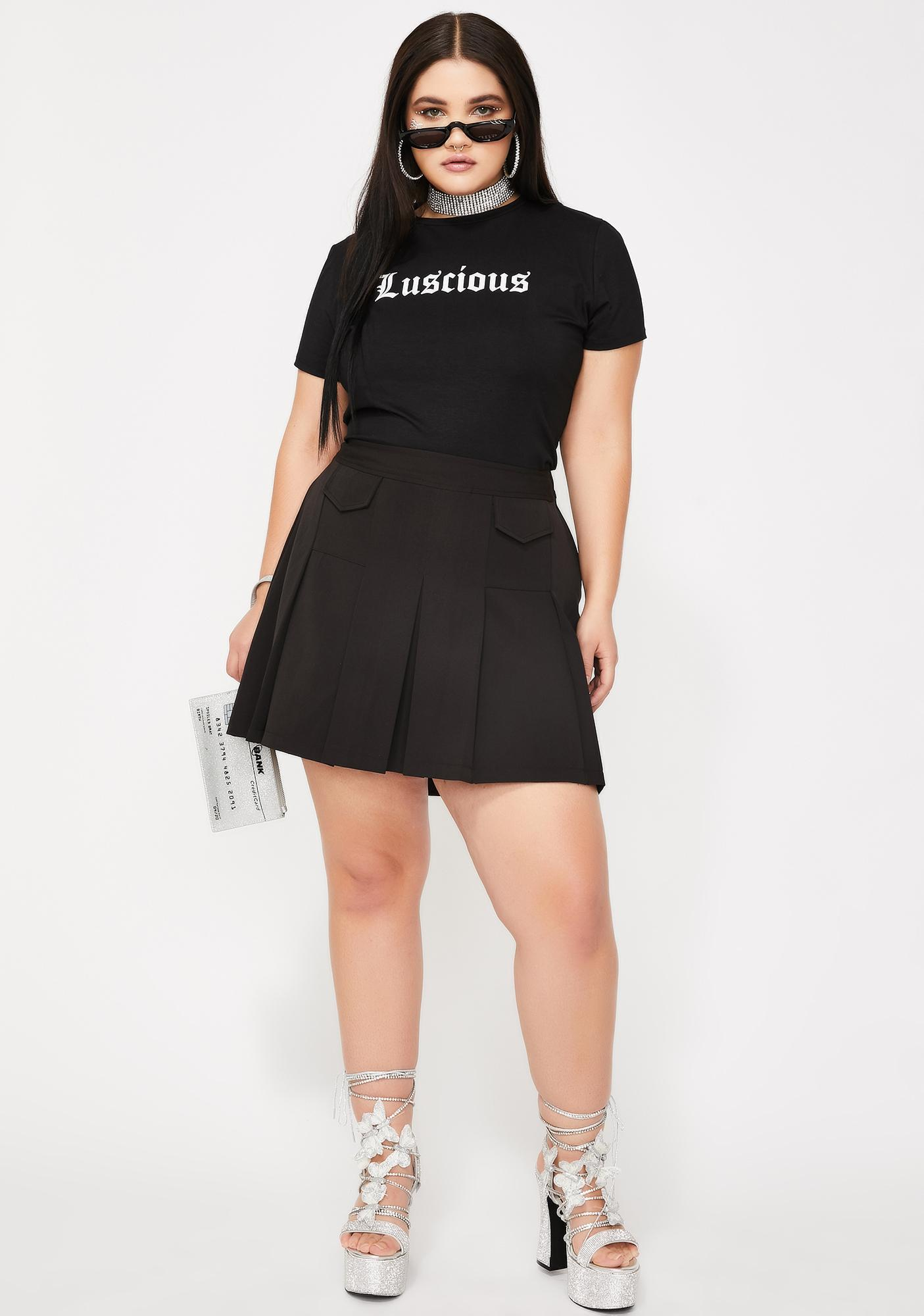 Poster Grl Luscious Baby Graphic Tee