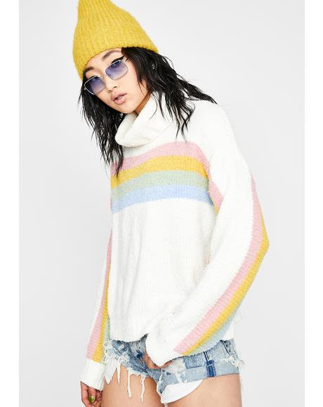 Toxic Trait Stripe Sweater