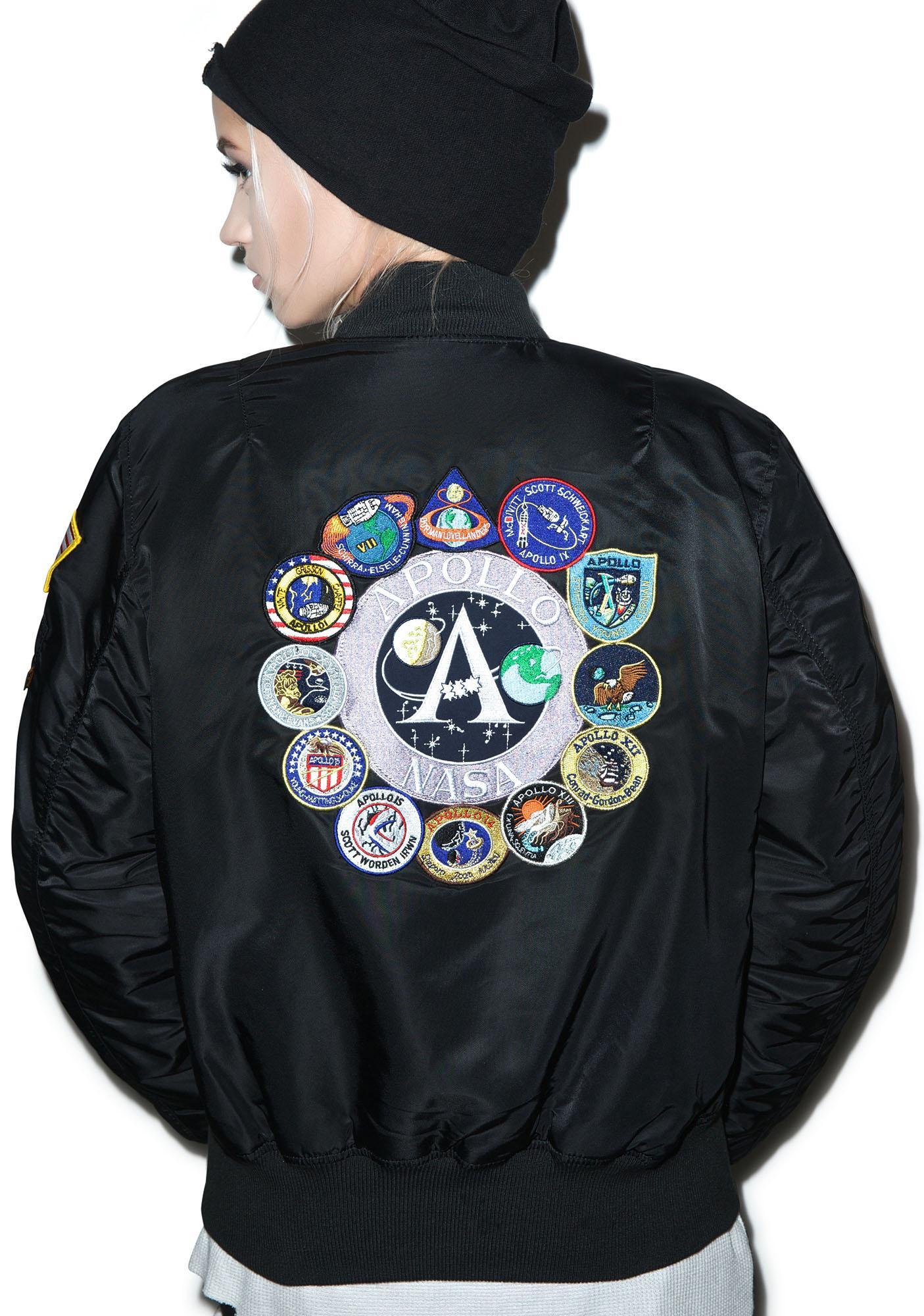 Alpha Industries Apollo MA-1 Flight Jacket