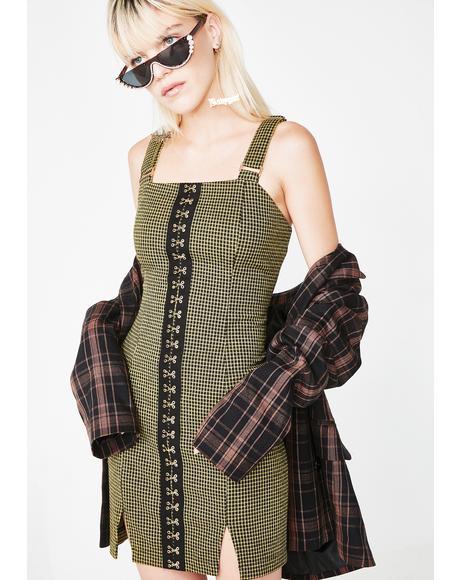 Set It Off Mini Dress