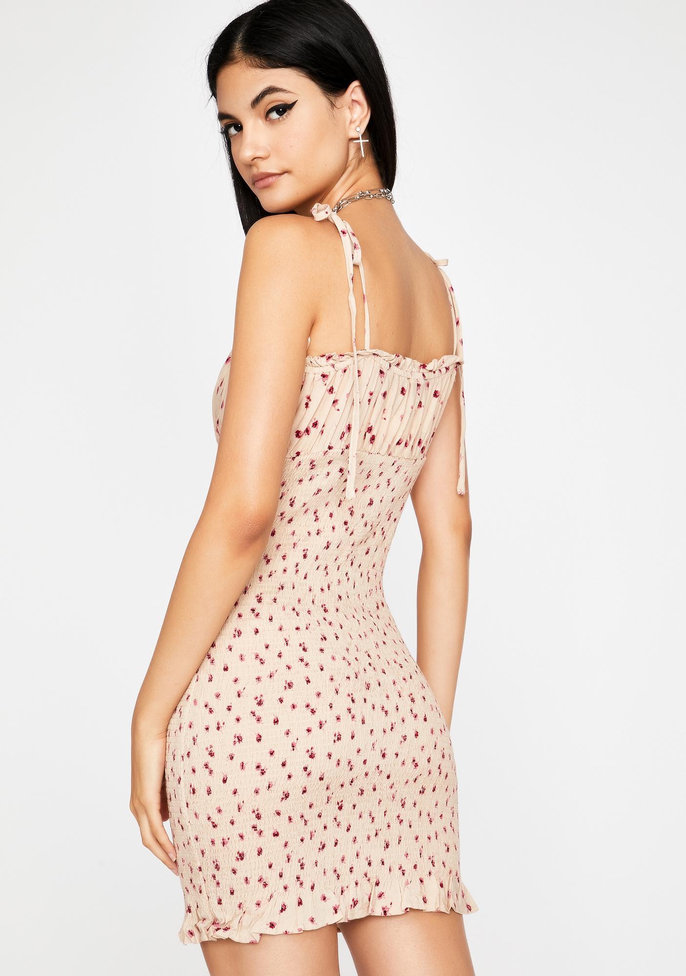 Runaway Date Smocked Dress