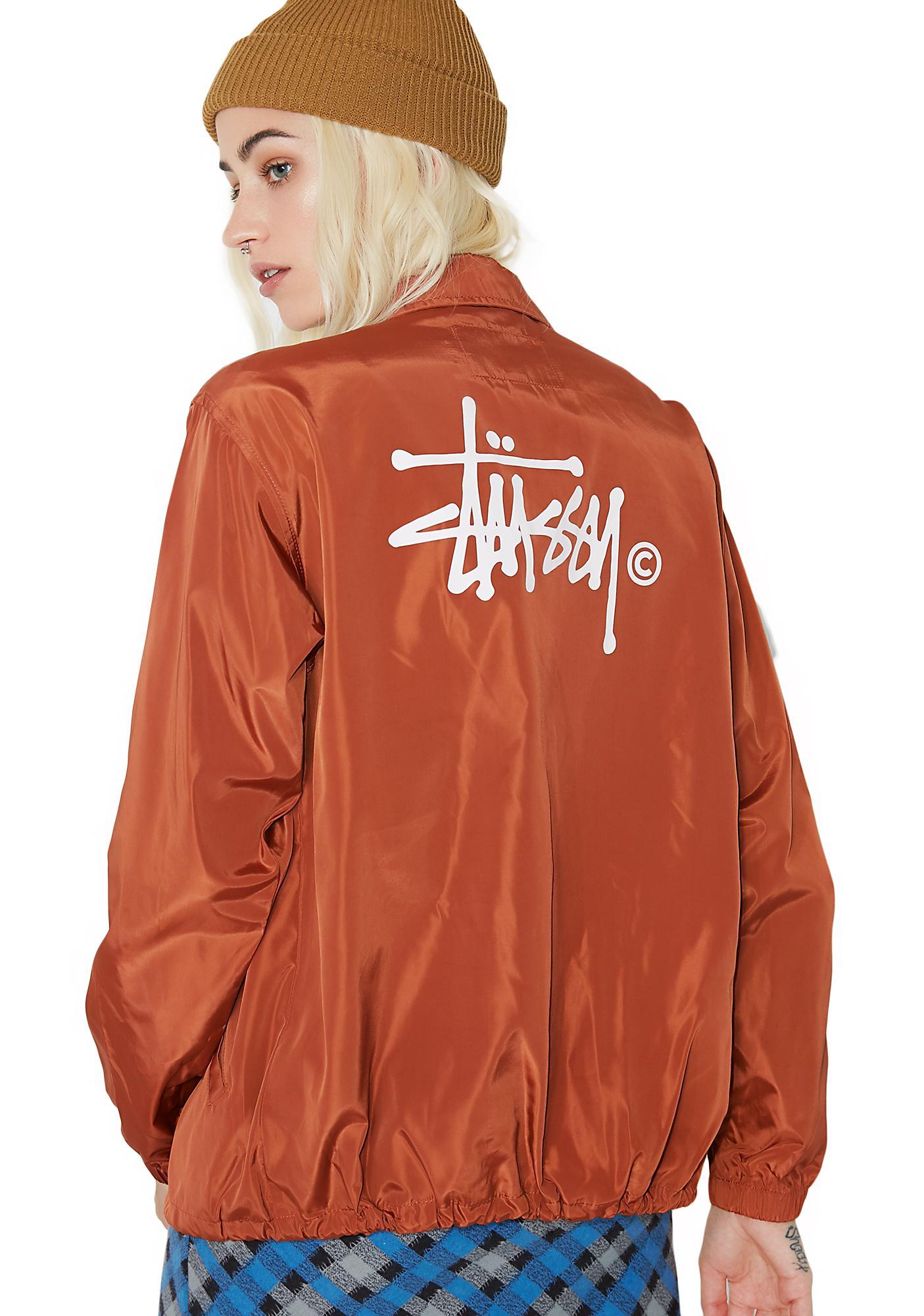 Stussy Newton Coach Jacket
