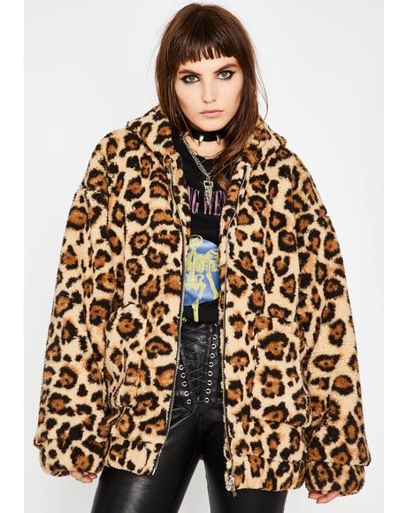 Wild Side Faux Fur Jacket