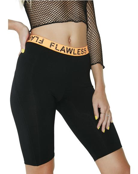 I'm Flawless Bike Shorts