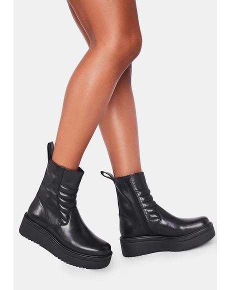 Tara Platform Boots