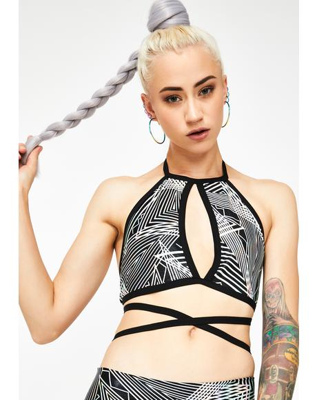 Tantric Keyhole Halter Top