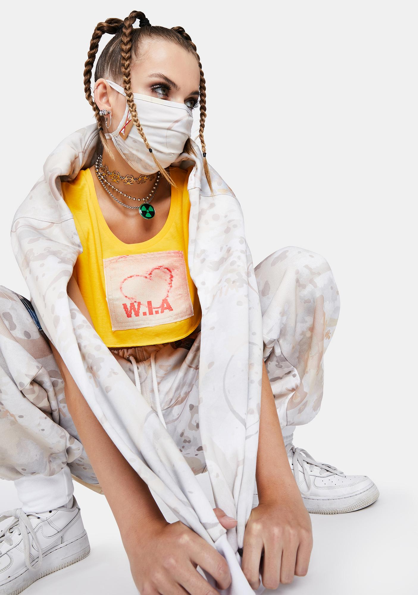 W.I.A Die For W.I.A Face Mask