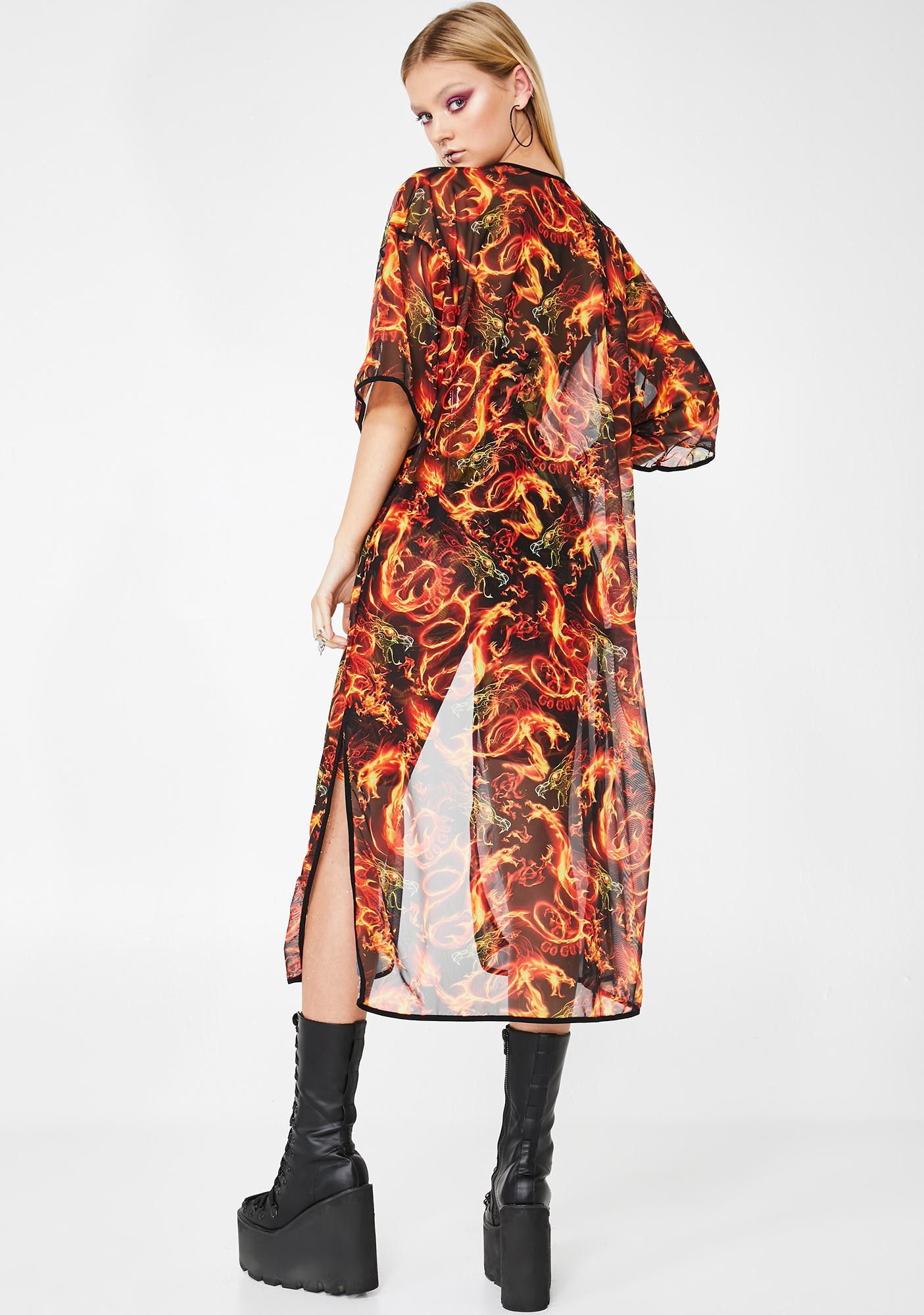 GoGuy All Guns Blazin Kimono