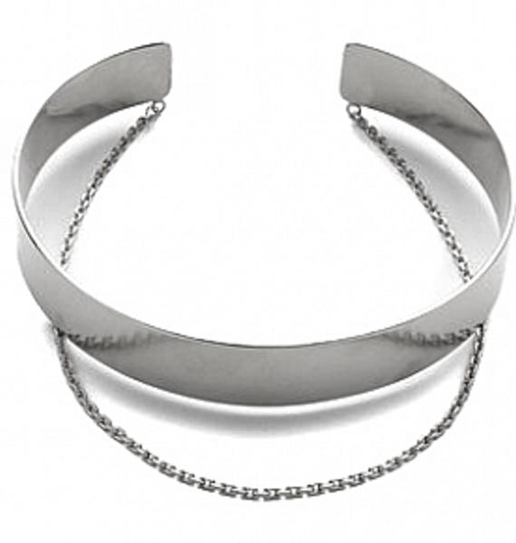 Vanessa Mooney Anarchy Silver Choker