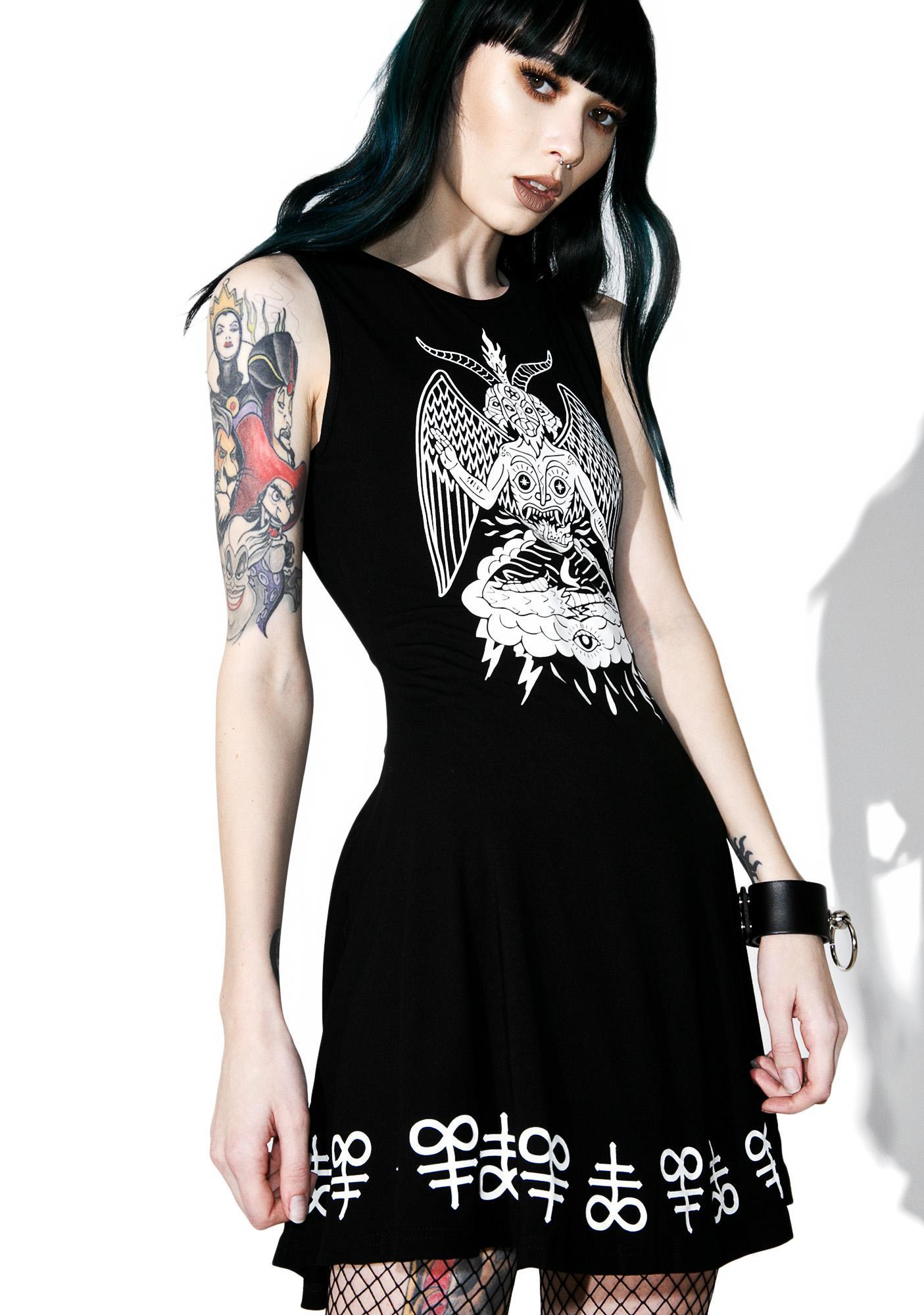 Killstar In Like Sin Skater Dress