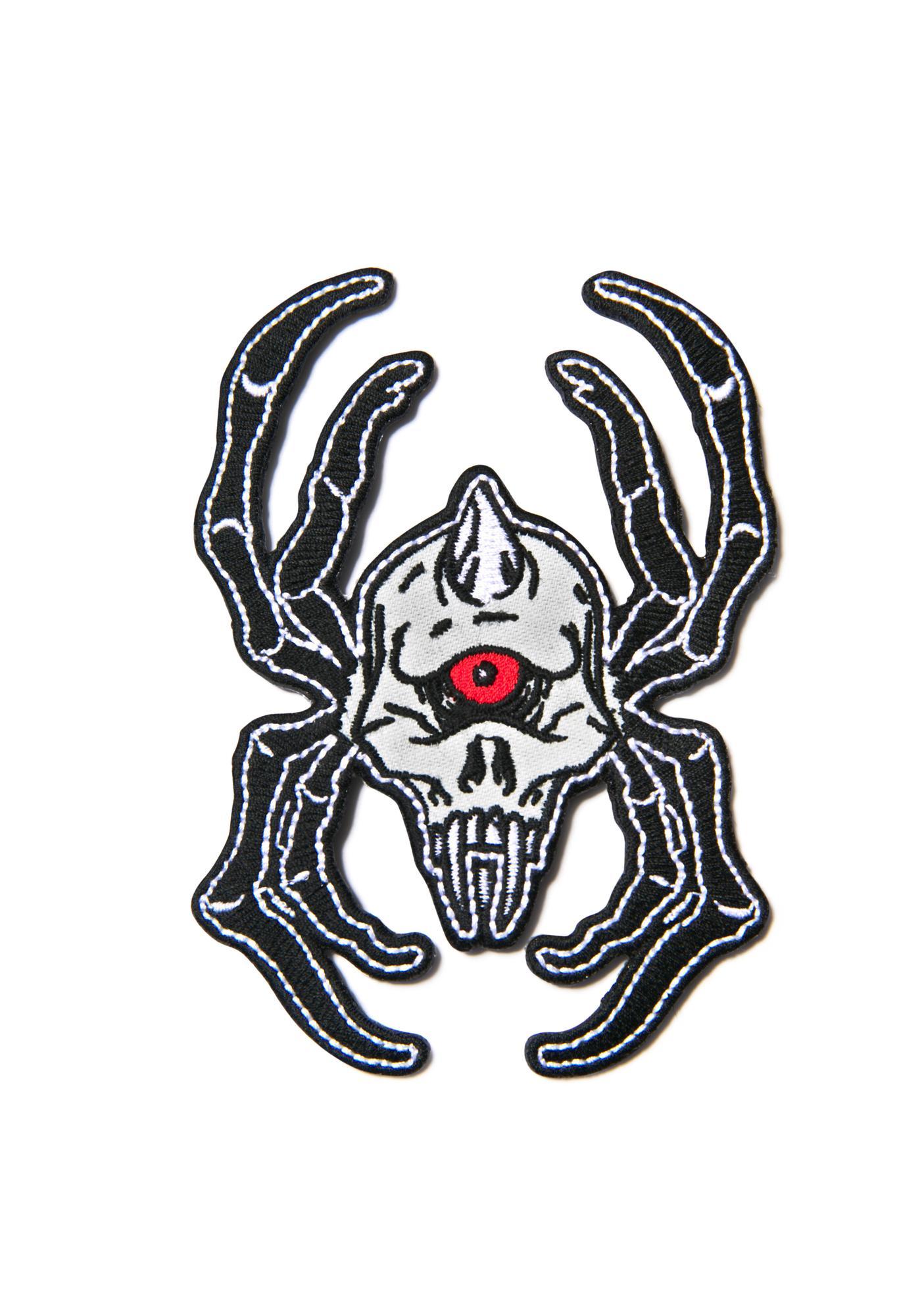 Mishka Cyco Spider Patch