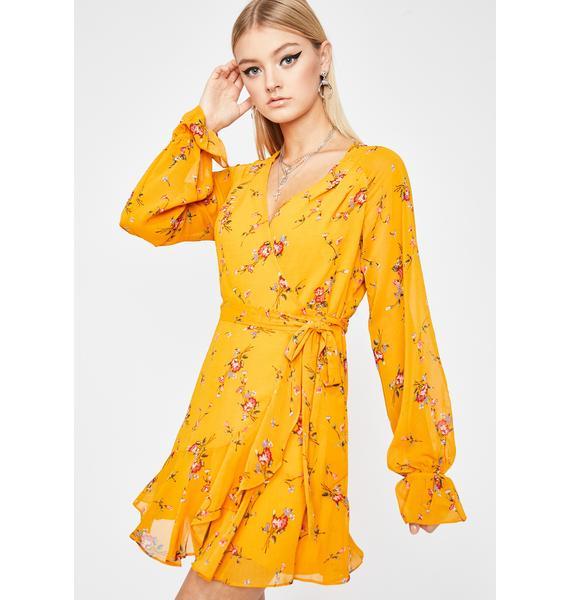 Crazy In Love Floral Dress