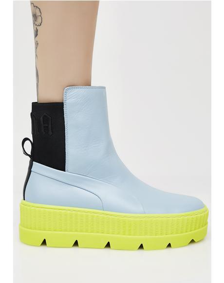 Neon FENTY PUMA By Rihanna Chelsea Sneaker Boots
