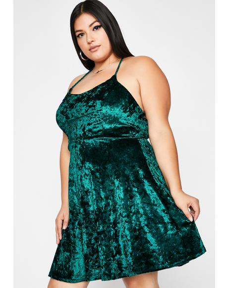 Dank Hellbound Date Mini Dress