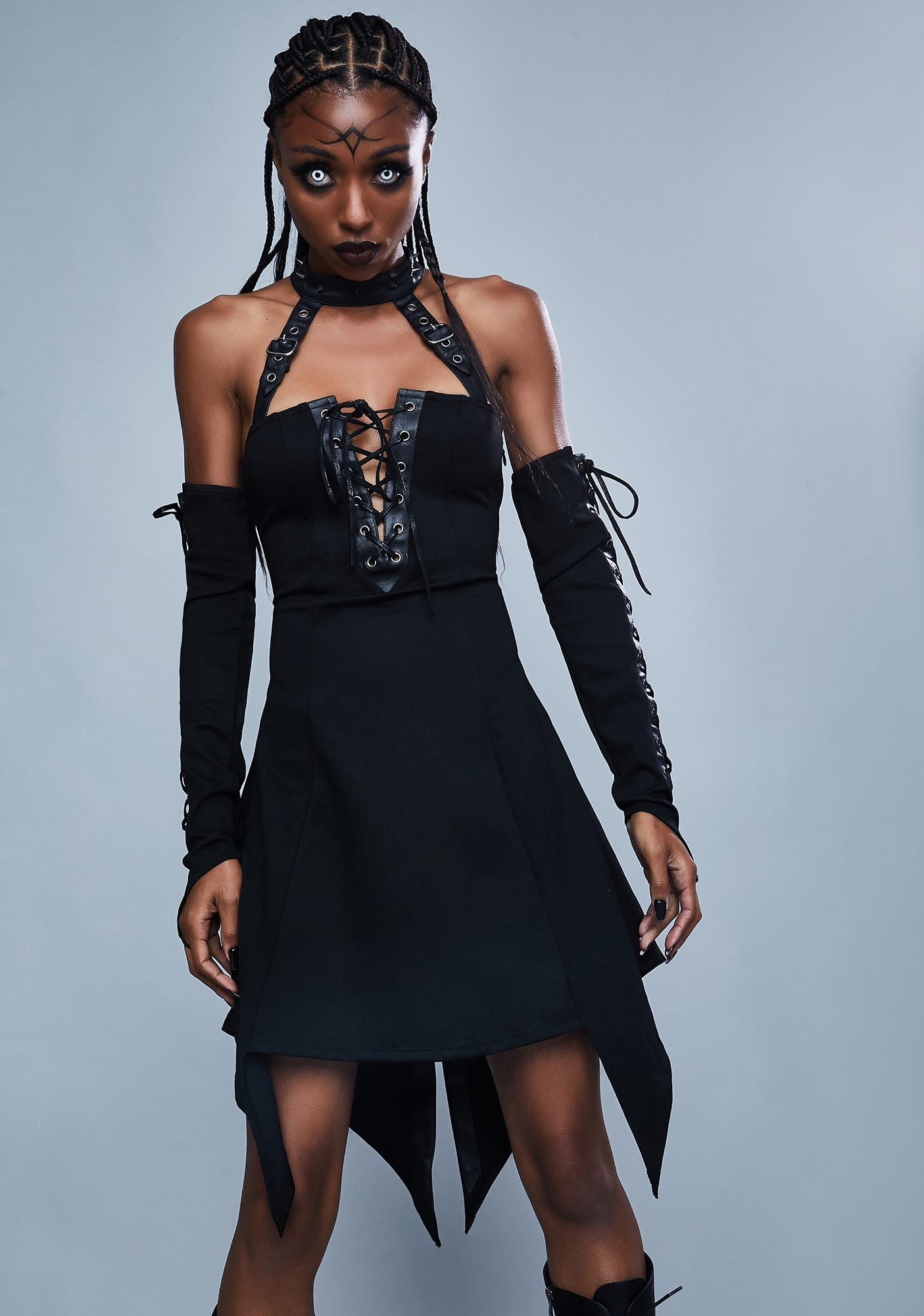 Widow Call Of The Wild Corset Dress