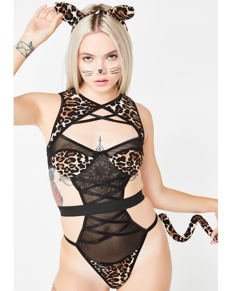 Sex Kitten Costume Set