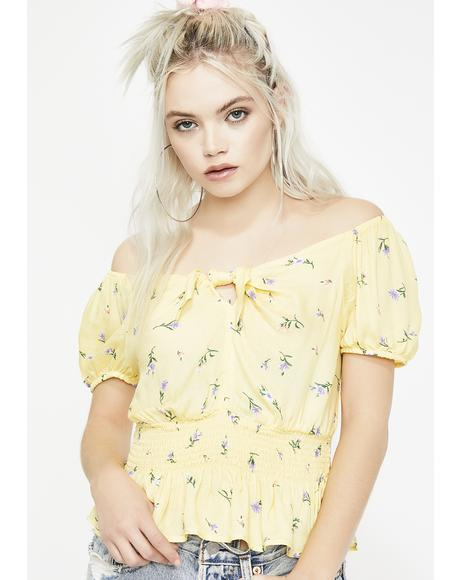 Luscious Life Floral Top