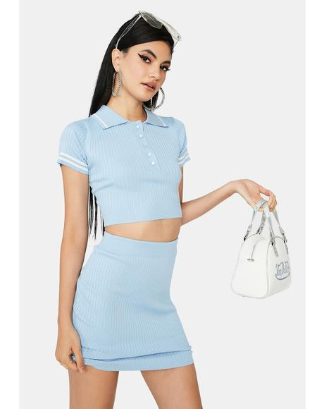 Chill Ur New Lab Partner Skirt Set