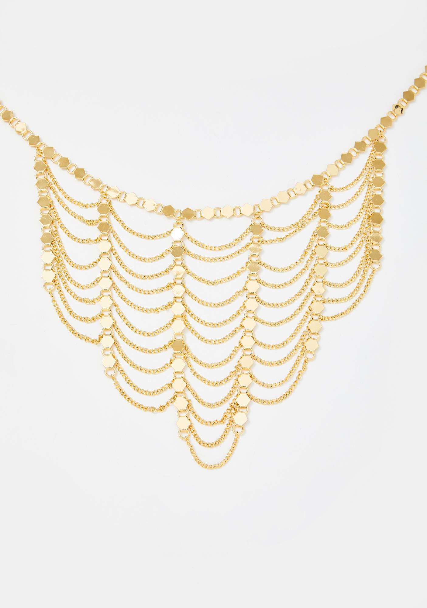 Undercover Royalty Layered Necklace