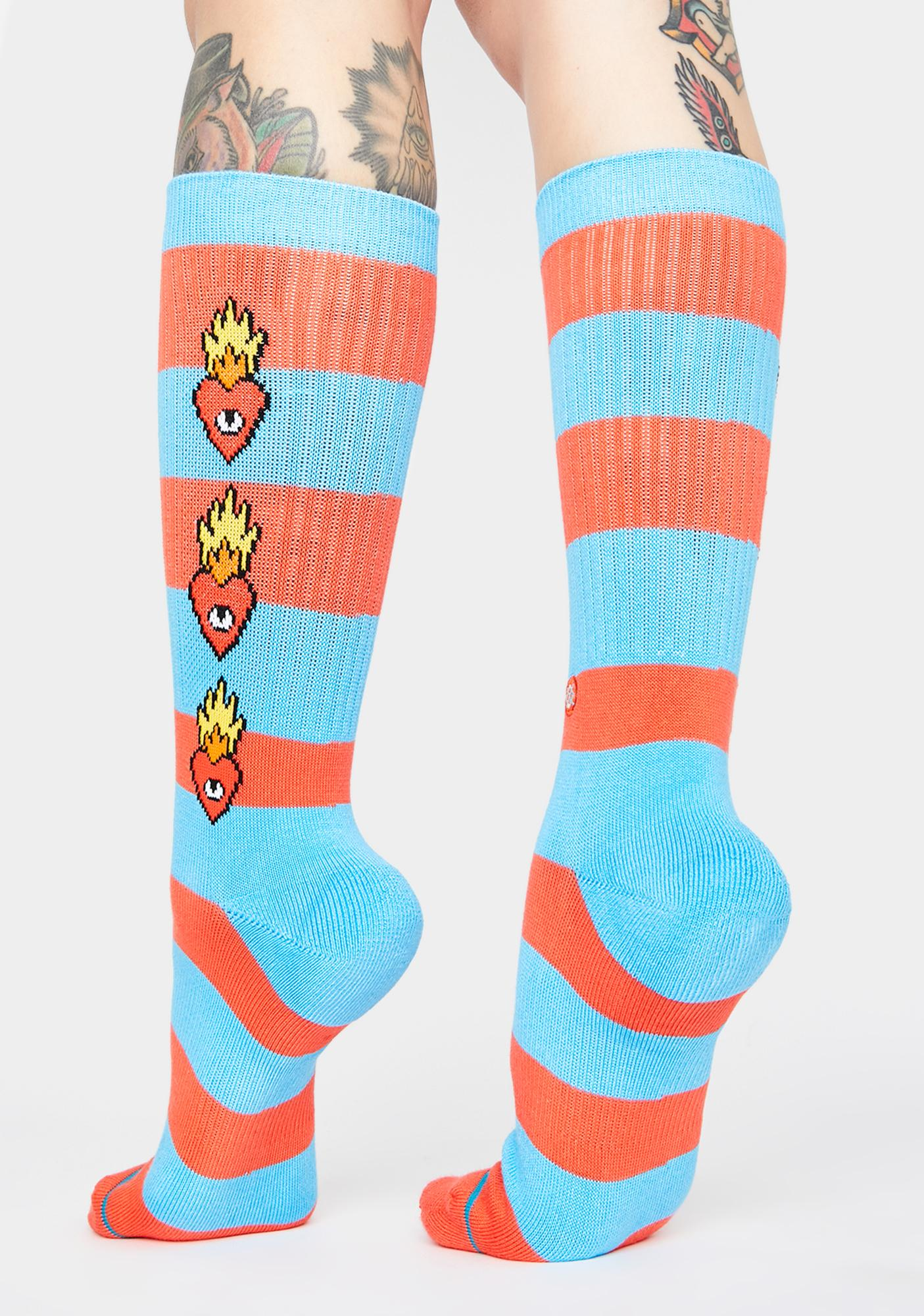 Stance x Ricardo Cavolo Heartless Crew Socks