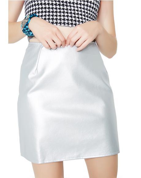 Silver Topaz Skirt