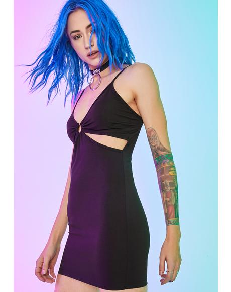 Death Wish Satin Dress