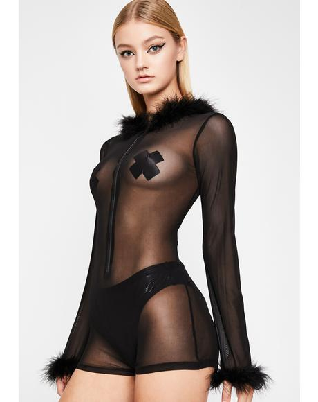 Night Nomad Sheer Romper