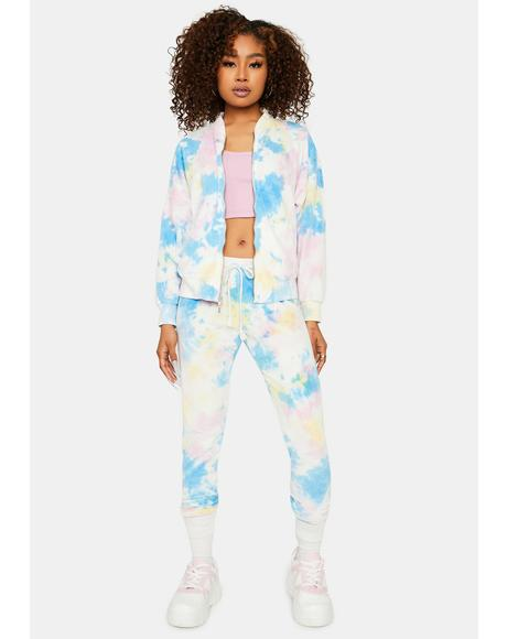 Give Me One Reason Tie Dye Lounge Set