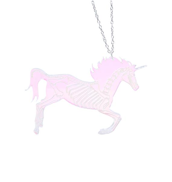 Undead Unicorn Party Necklace