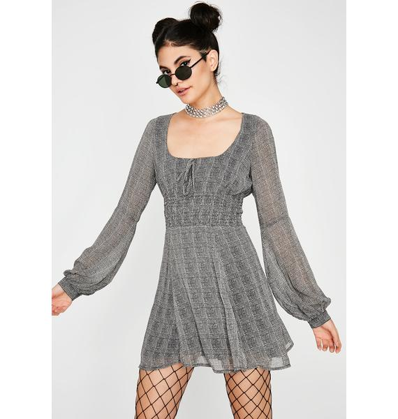 Goody Two Shoes Plaid Dress
