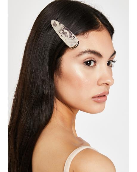 Hissy Queen Snake Hair Clip