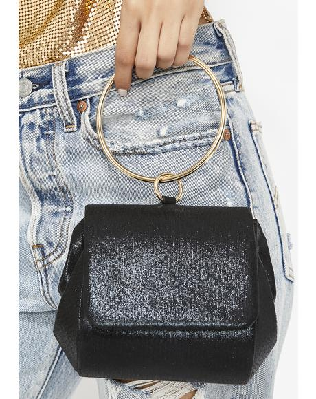 Midnight Lady Deluxe O-Ring Clutch
