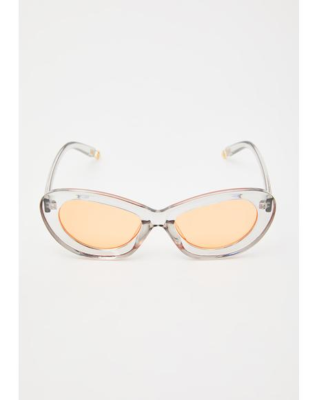 Juicy Lover Cat Eye Sunglasses