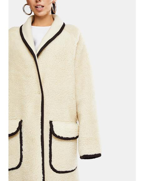 Irresistible Teddy Cardigan