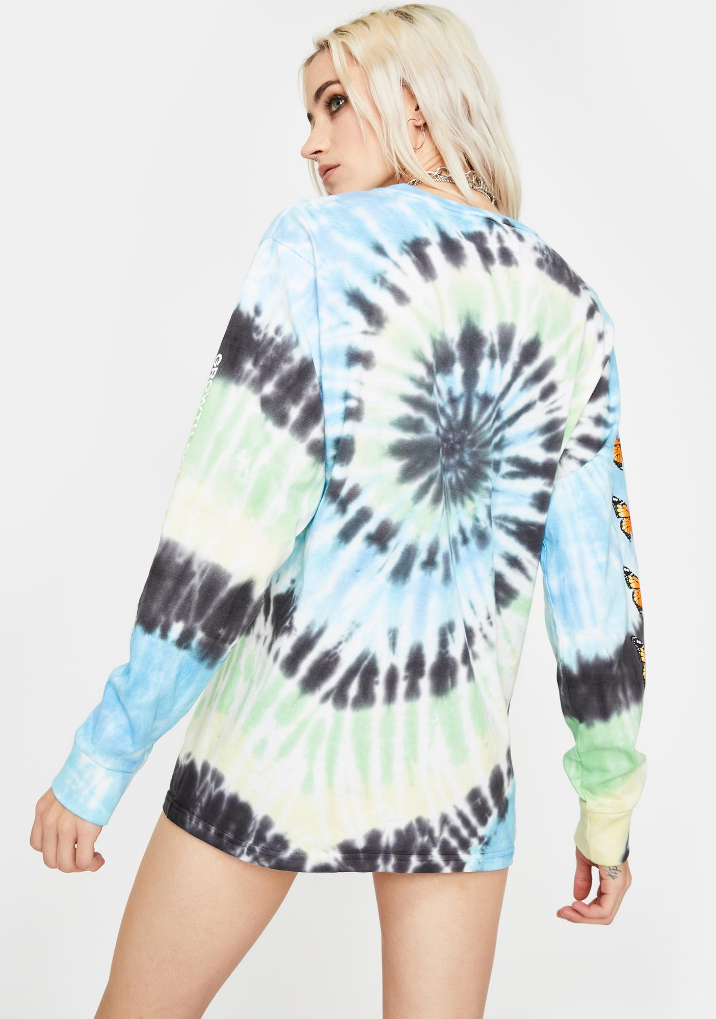 By Samii Ryan Growth Graphic Long Sleeve Tee