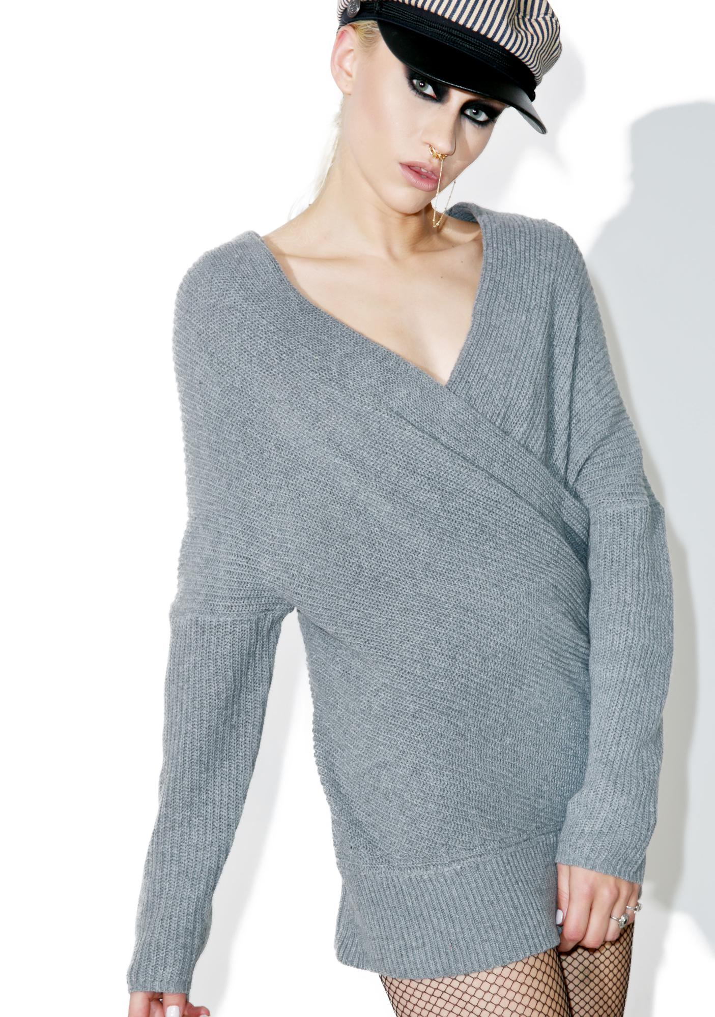 Storm Chaser Wrap Sweater
