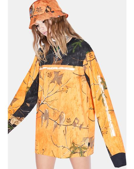 Realtree Orange Endo Long Sleeve Jersey