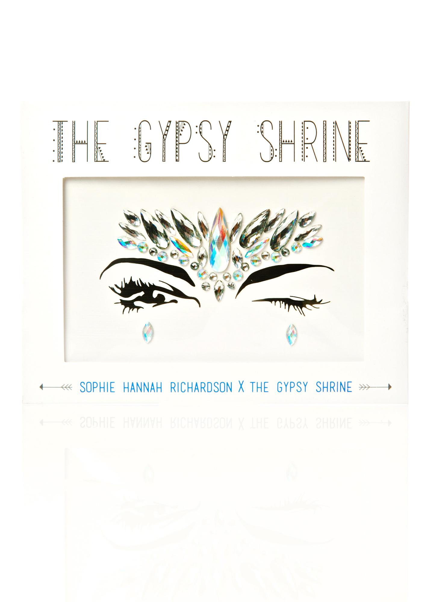 The Gypsy Shrine Clear Face Gem Piece