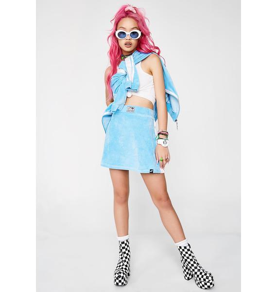 Illustrated People Velour Popper Skirt