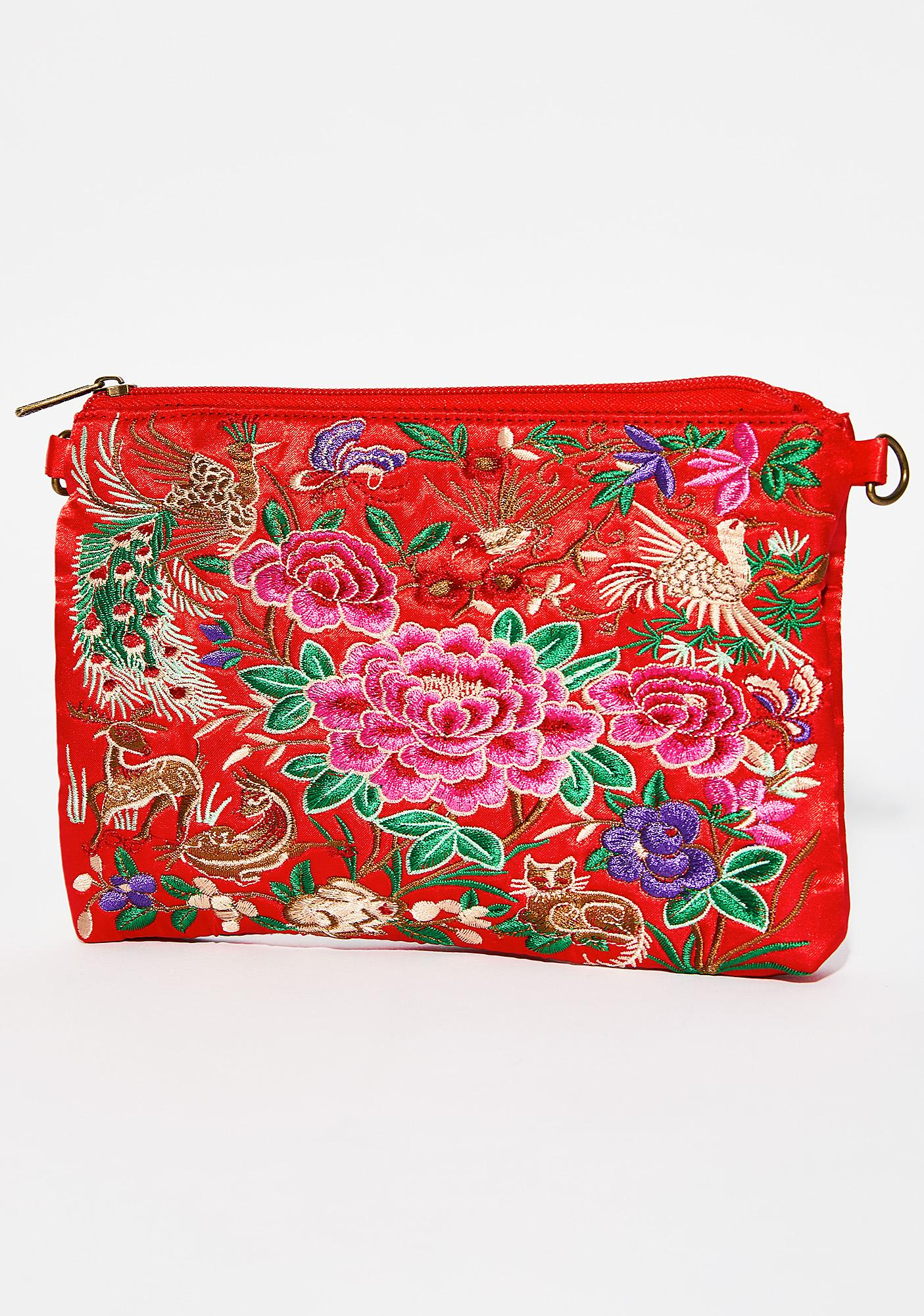 Cherry Precious Secrets Crossbody Bag