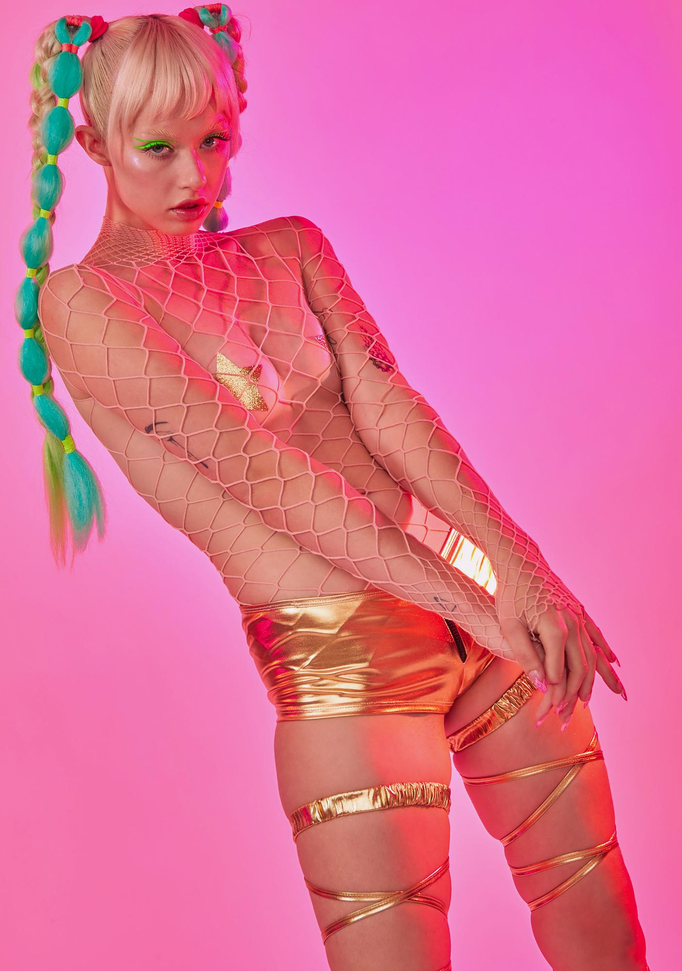 Candy The Damned Fishnet Bodysuit