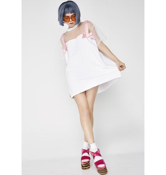 Lazy Oaf Tied Up Bow T-Shirt